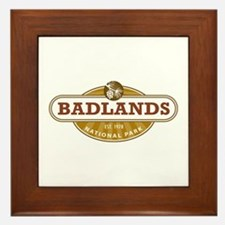 Badlands National Park Framed Tile