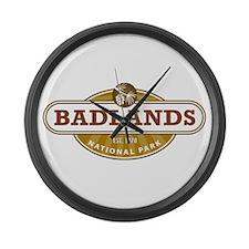 Badlands National Park Large Wall Clock