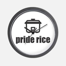 """Pride Rice"" [Light] Wall Clock"
