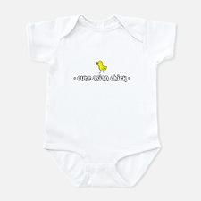 """""""Cute Asian Chick"""" Infant Bodysuit"""