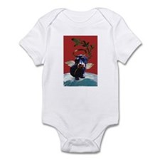 Wirehaired Dachshund Peace Infant Creeper