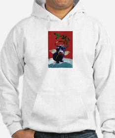 Wirehaired Dachshund Peace Hoodie