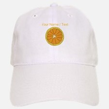 Custom Grapefruit Baseball Baseball Cap