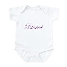 Purple Believe Infant Bodysuit