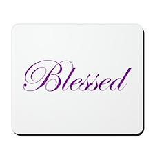 Purple Believe Mousepad