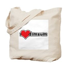 """I Love Dim Sum"" Tote Bag"