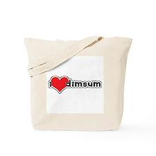 """I Love Dim Sum"" Tote Bag"