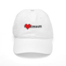 """I Love Dim Sum"" Baseball Cap"