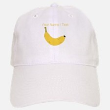 Custom Banana Baseball Baseball Cap