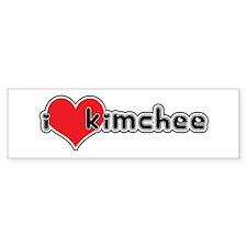 """I Love Kimchee"" Bumper Bumper Sticker"