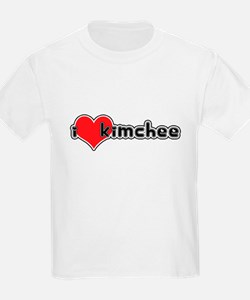 """I Love Kimchee""  Kids T-Shirt"