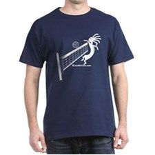 Kokopelli Volleyball Player T-Shirt
