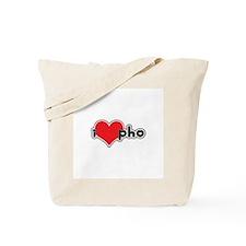 """I Love Pho"" Tote Bag"