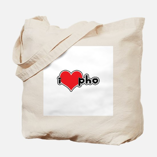 """I Love Pho"" Tote Bag"