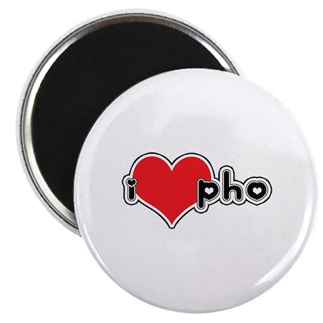 """""""I Love Pho"""" Magnet"""