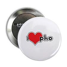 """I Love Pho"" Button"
