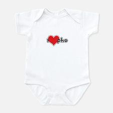 """""""I Love Pho"""" Infant Bodysuit"""