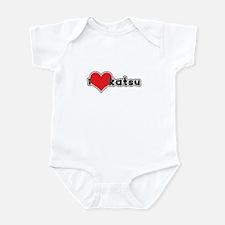 """I Love Katsu""  Infant Bodysuit"