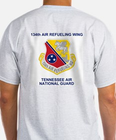 134th Air Refueling Wing Colonel Grey Shirt