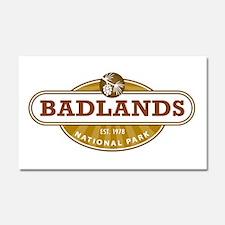 Badlands National Park Car Magnet 20 x 12