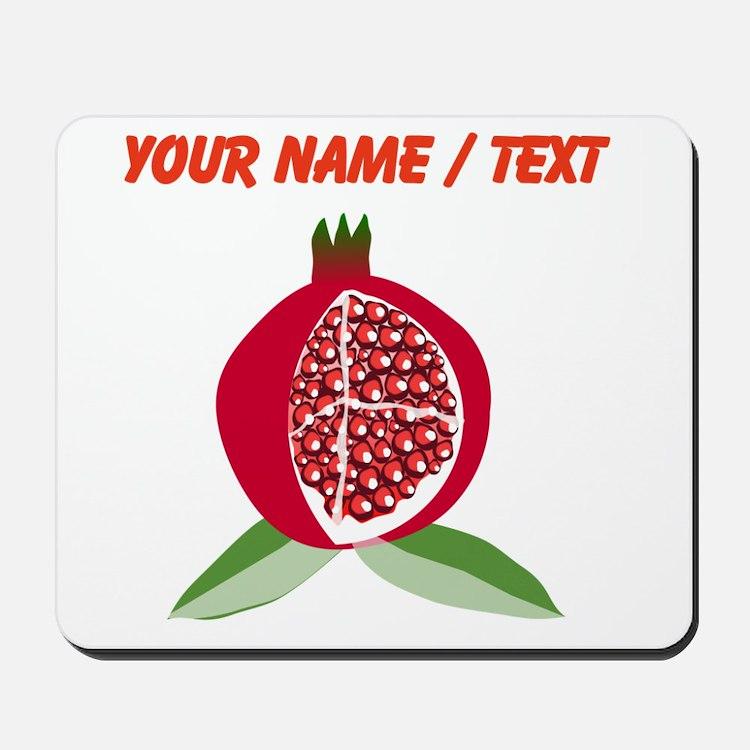 Custom Pomegranate Mousepad