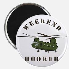 Weekend Hooker Magnet