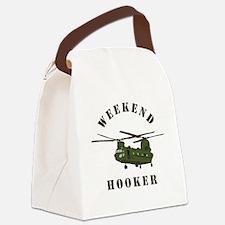 Weekend Hooker Canvas Lunch Bag