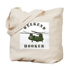 Weekend Hooker Tote Bag