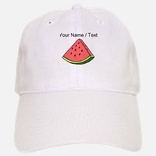 Custom Watermelon Slice Baseball Baseball Cap