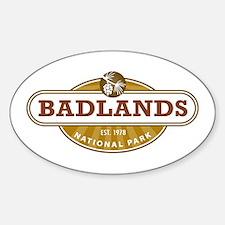 Badlands National Park Decal