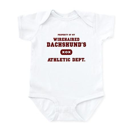 Wirehaired Dachshund Infant Bodysuit