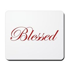 Red Blessed Mousepad