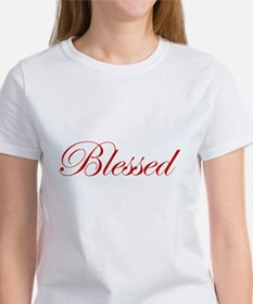 Red Blessed Tee