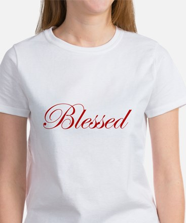 Red Blessed Women's T-Shirt