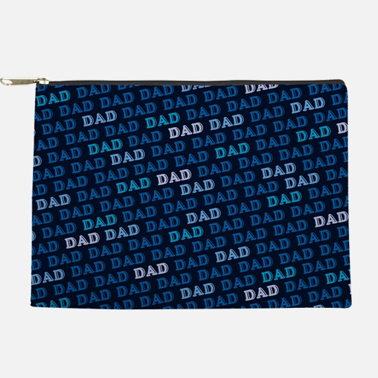 Dad Pattern Makeup Pouch
