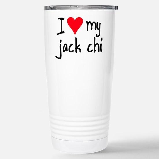 I LOVE MY Jack Chi Mugs
