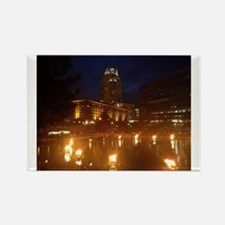 Providence WaterFire Rectangle Magnet