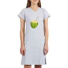 Coconut Drink Women's Nightshirt