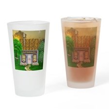 Irish Village Bakery (Gaelic) Drinking Glass