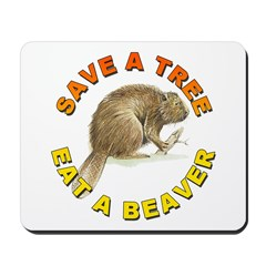 Save a Tree Environment Mousepad