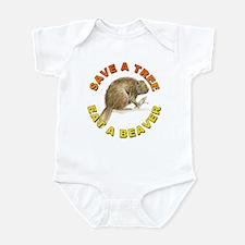 Save a Tree Environment Infant Bodysuit
