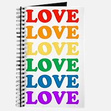 Love Love Love (Rainbow) Journal