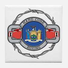 New York Boxing Tile Coaster