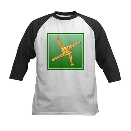 Brigit's Cross Kids Baseball Jersey