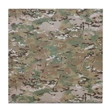 Multicam camo Tile Coaster
