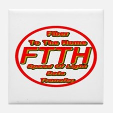 FTTH (Fiber to the Home) Tile Coaster