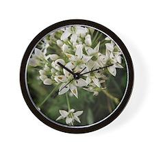 Garlic Chives Wall Clock