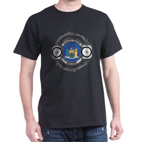 New York Biking Dark T-Shirt