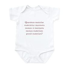 Latin Woodchuck Infant Bodysuit