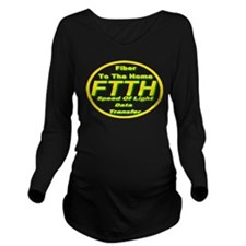 FTTH (Fiber to the Home) Long Sleeve Maternity T-S